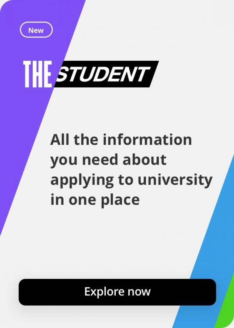 Link through to the new THE Student platform