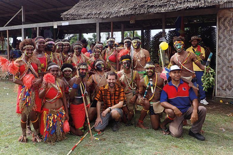 John Warren in Papua New Guinea