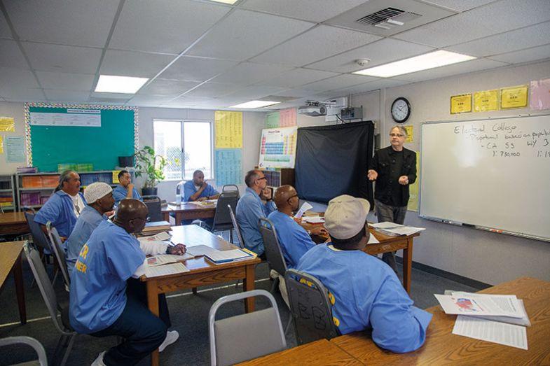Class in prison