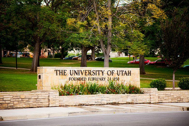 university-utah-sign