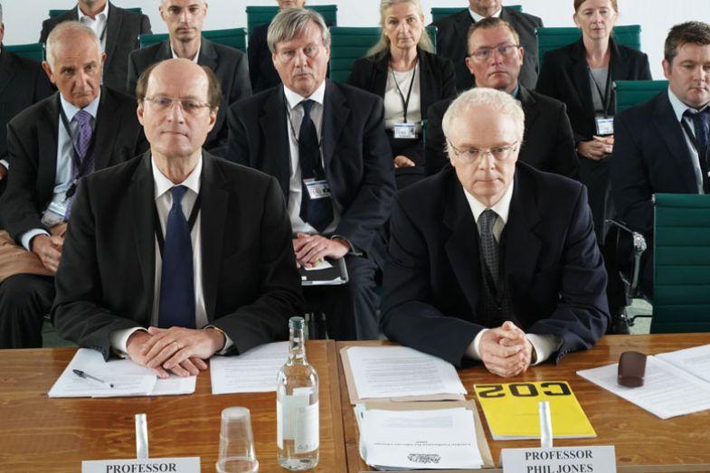 Adrian Edmondson and Jason Watkins in the BBC drama, The Trick