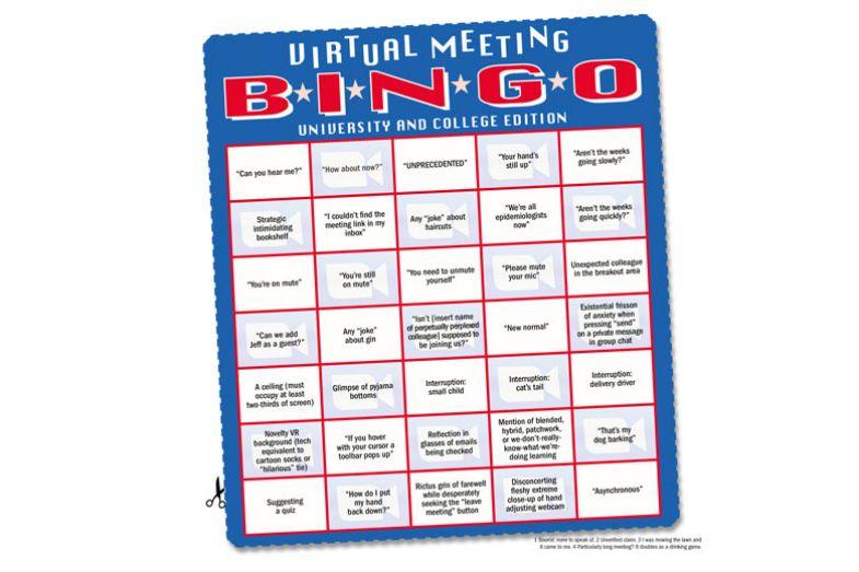 Lady playing bingo