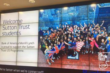 Sutton Trust US programme