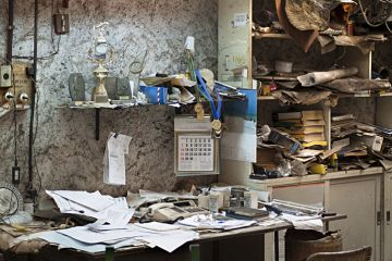 An abandoned office