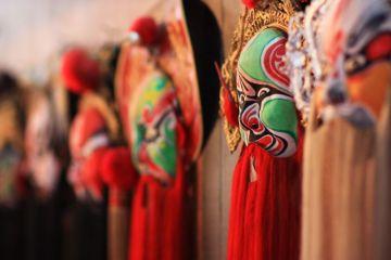 Beijing opera masks