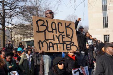 Black Lives Matter protest in Washington DC