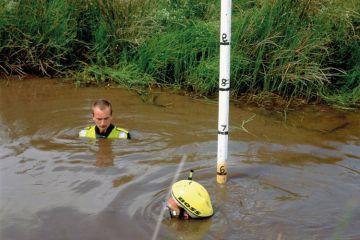 Bog snorkelling contestants, Llanwrtyd Wells, Wales