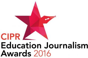 CIPR Education Journalism Awards 2016 logo