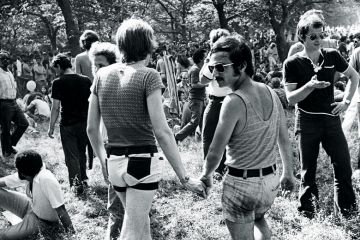 Gathering of members of the Gay Liberation Movement