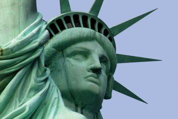 Head of Statue of Liberty, New York City