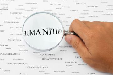 Humanities under magnifying glass