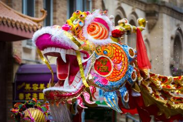 How are Chinese students celebrating Chinese New Year at university?