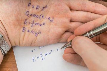 test answers on a palm