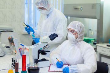 science lab coronavirus