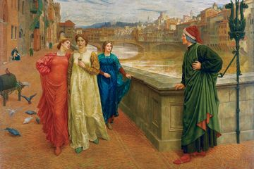 Henry Holiday's 1883 painting Dante and Beatrice