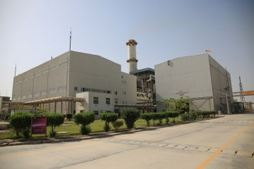 A Pakistani power plant