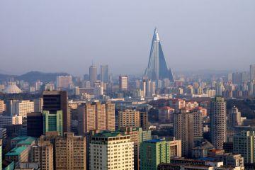 Pyongyang Skyline