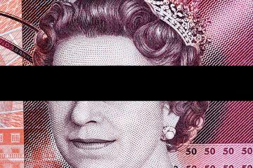 Redacted bank note