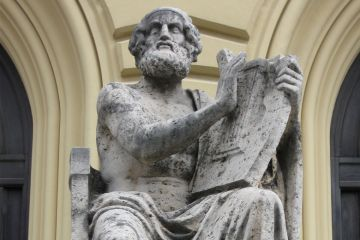 Statue of Homer, Bavarian State Library, Munich
