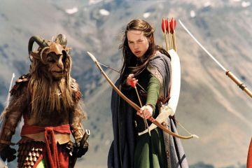 Susan Pevensie in a still from Narnia film