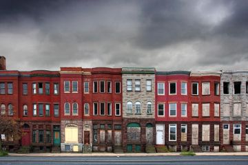 Rowhouses in Baltimore