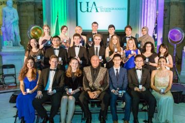 The undergraduate awards in Dublin