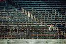 A lone spectator