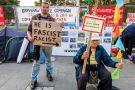 Anti-war demonstration, Parliament Square, London, UK