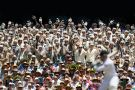 cricket crowd