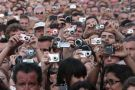 Crowd film on cameras