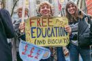 Free education sign