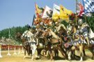 Knights charging