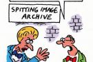 Maggie Thatcher Spitting Image cartoon