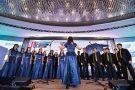 Choir at THE World Academic Summit 2018