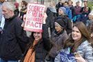 """March for Science. """"Science is not an alternative fact"""" placard."""