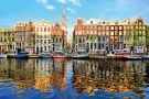 Canal houses, Amsterdam, Netherlands