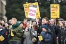 UCU pension picket