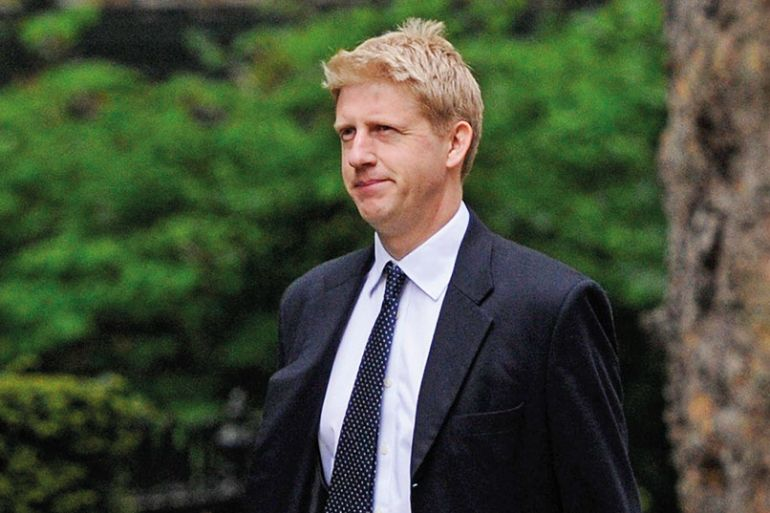 Jo Johnson arrives at 10 Downing Street, London, England