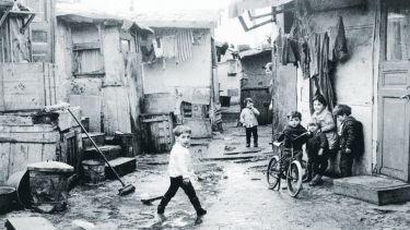 A bidonville in Saint Denis, 1963