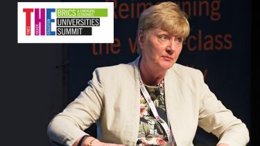 Bairbre Redmond, provost of Universitas 21, at the Times Higher Education BRICS & Emerging Economies Universities Summit, 2016