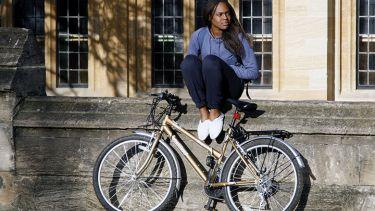 Black Oxford student