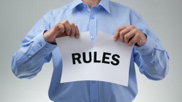rules, break, law