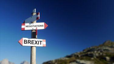 Brexit negotiations sign
