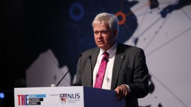 Brian Schmidt at the World Academic Summit