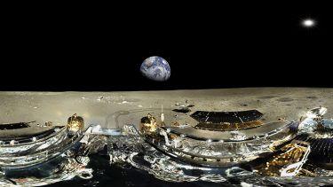 Image from China's mission to the Moon