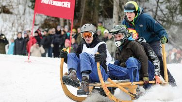 Competitive sledging