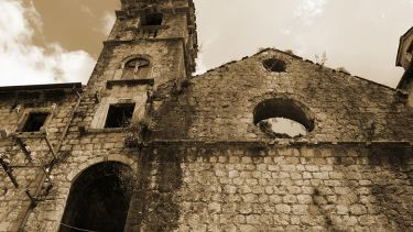 Crumbling church