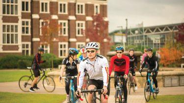 Cycling at Loughborough University
