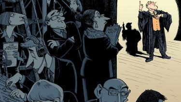 David Parkins illustration (28 May 2015)