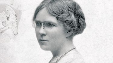 Dorothy M. Richardson portrait